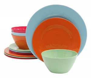 As the name suggests this set comes in an assortment of colors. The set is perfect for outdoor dining as the set is chip break and scratch resistant.  sc 1 st  Sambatop10 & Top 10 Best Dinnerware Sets Reviews in 2018 - Sambatop10