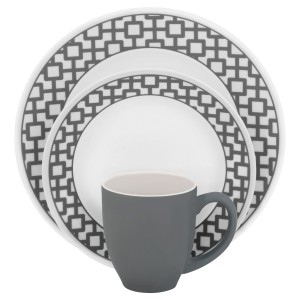 Corelle Impressions Service for four 16-Piece Dinner set  sc 1 st  Sambatop10 : best dinner plate sets - pezcame.com