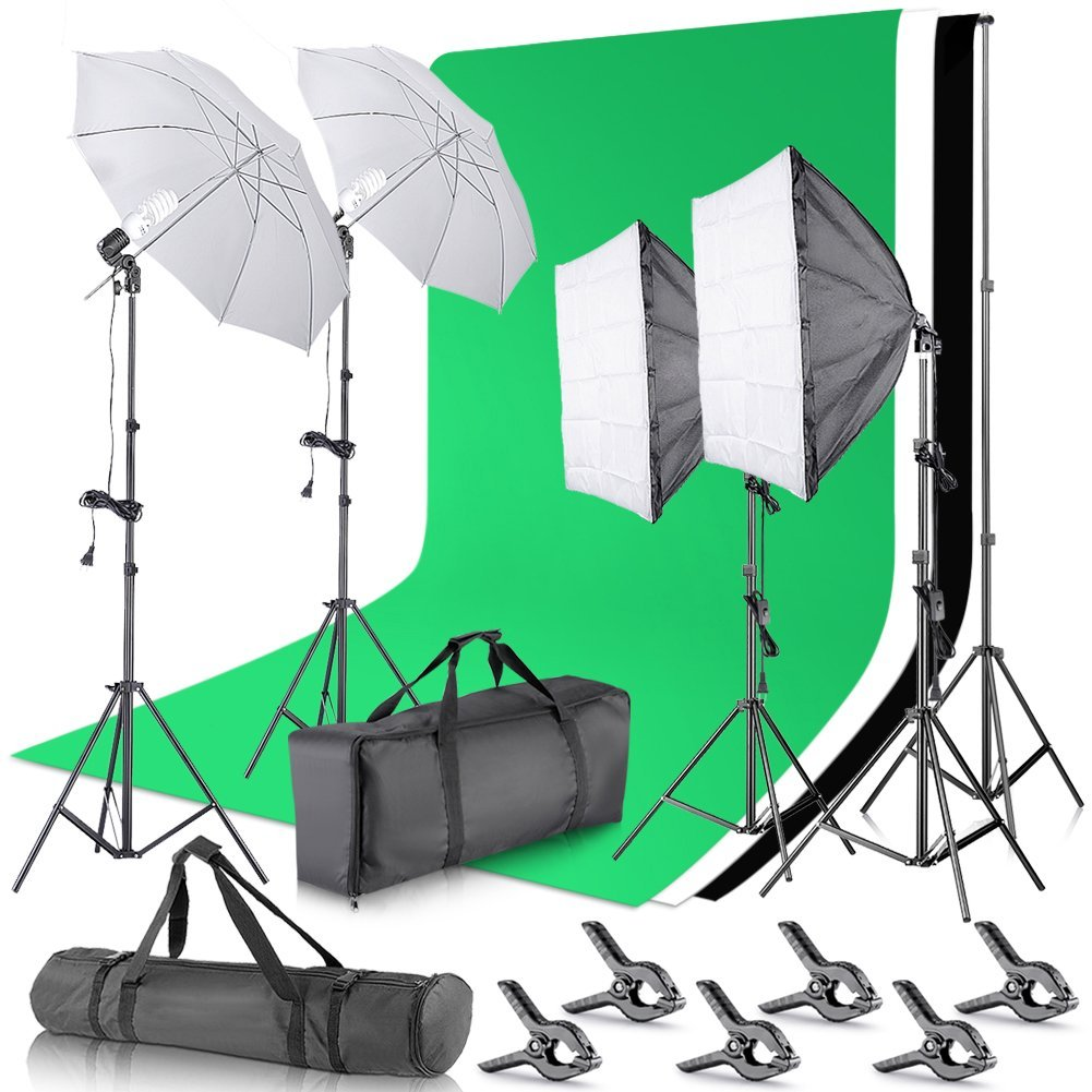 Top 10 Best Green Screen Kit in 2018