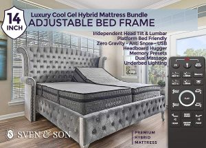Best Adjustable Beds 2020.Top 10 Adjustable Bed Frames Reviews 2020 Sambatop10